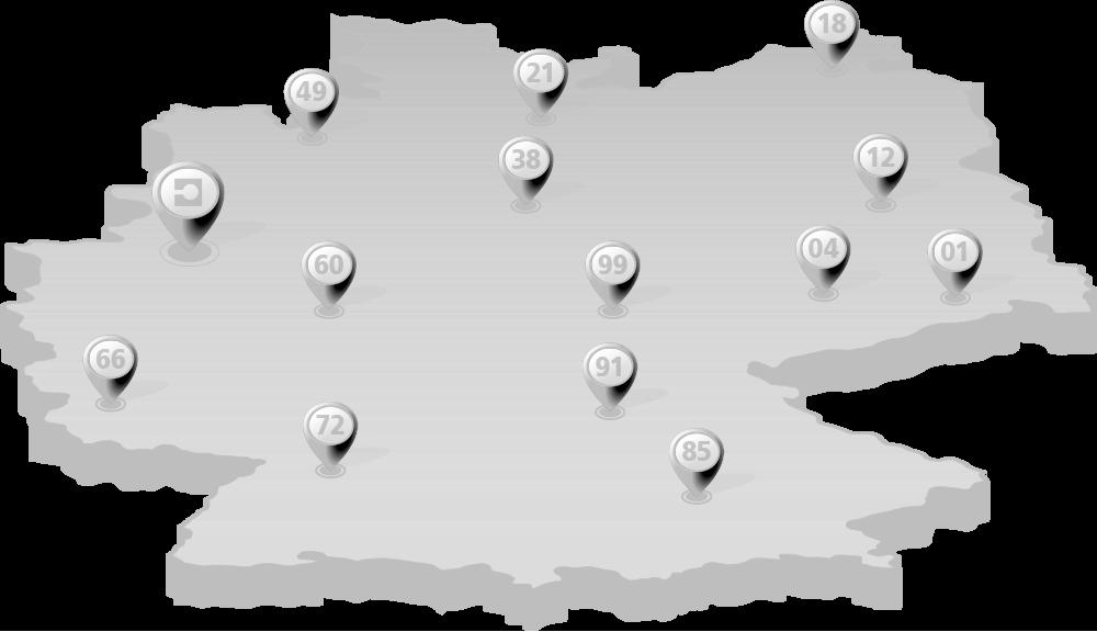 POS Standortkarte