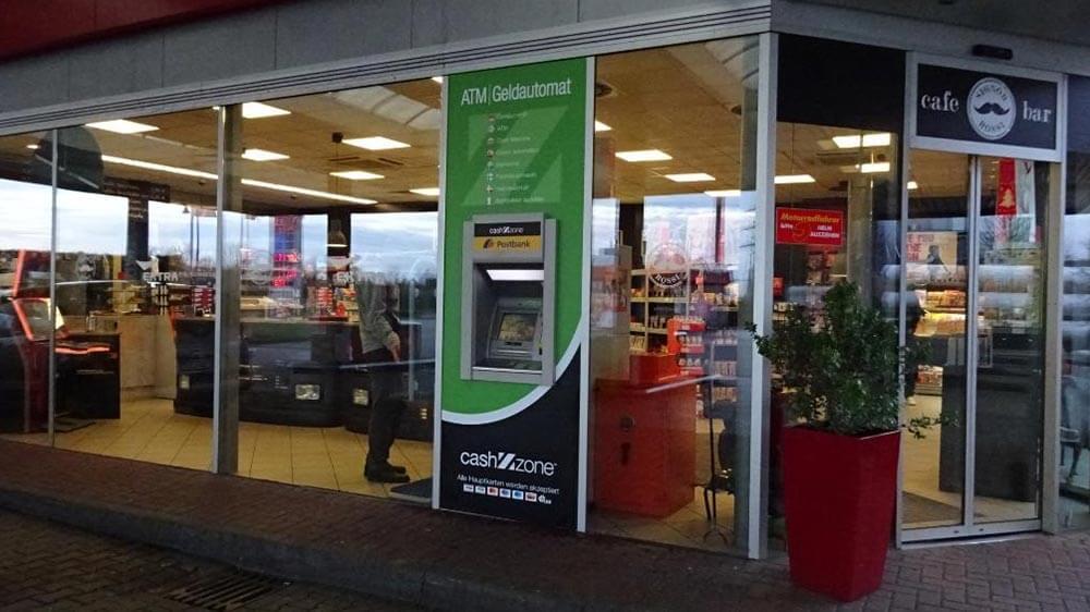 Kennzeichnung Geldautomaten