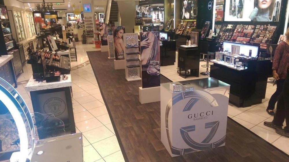 Parfüm Promotion-Stand