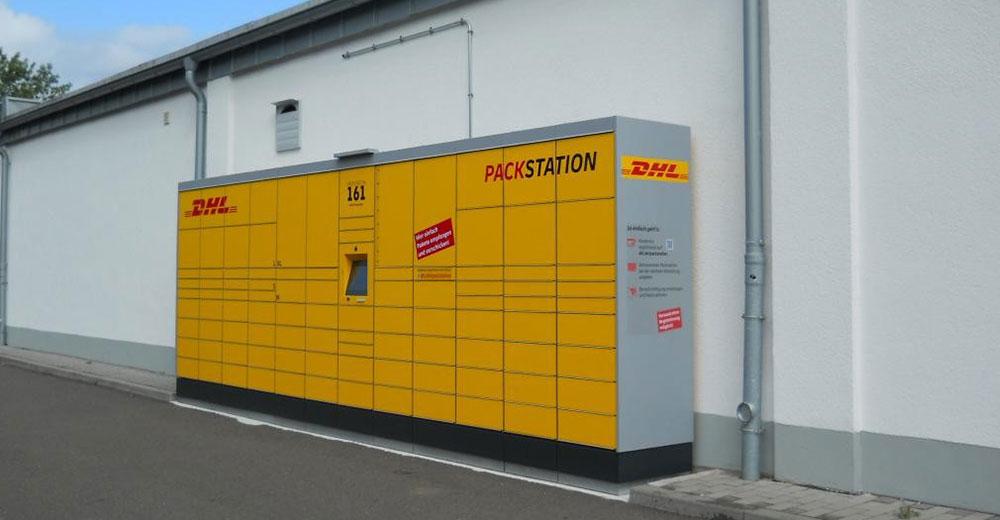 DHL Packstationen